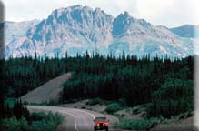 Parks Highway near Denali National Park